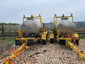 3000 litres Agricultural Farm, TRAILER MOUNTED SPRAY CHEMICAL RUNWAY DEICER