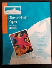 Heavy 2 Sided Laser Glossy Photo Paper 8.5 x 11 Great White