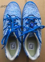 FOOTJOY FJ Leisure Women's  Blue/White Golf Shoes 9 M 92907 NWOB