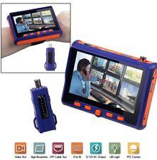 "Tester telecamere videosorveglianza AHD HD CCTV VGA TVI UTP CVI CVBS monitor 5"""