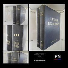 La terre et les hommes B.ISELIN Fernand Nathan 1967.69 ARTBOOK by PN