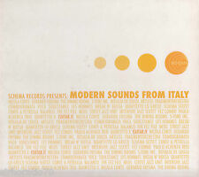 MODERN SOUNDS FROM ITALY Various / Schema Records CD - Digipak