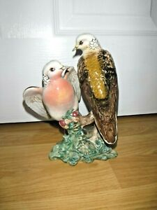 Exquisite Beswick TURTLE DOVES ~ 1022 ~ Excellent Condition ~ 1st Quality