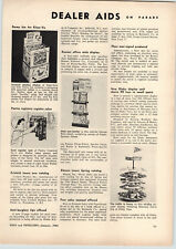 1963 PAPER AD Dinky Toy Store Display Unit Revolving Rack 90 Toys Cars Trucks ++
