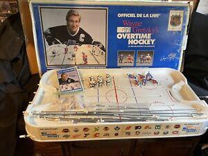 Wayne Gretzky's Overtime Hockey Table Game Rangers Kings Vintage Box Manual