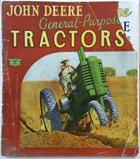 John Deere Tractor Co Factories General Catalog 200 Timeline JD Sales Tools