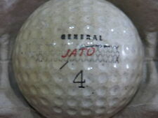 (1) VINTAGE JATO GENERAL #4 LOGO GOLF BALL