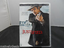 JUSTIFIED SEASON 1 DISC 2 REPLACEMENT DISC USED GOOD