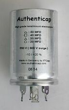 40/40/20/20 uf 550V/600 ELECTROLYTIC CAPACITOR MCINTOSH MX110