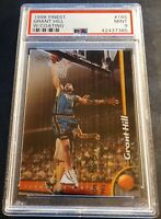 1998 GRANT HILL FINEST W/COATING #165 PSA 9 PISTONS HOF POP 2 (264)