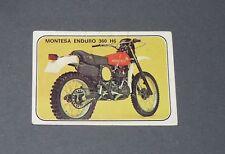 N°273 MONTESA ENDURO 360 H6 BARCELONA ALBUM PANINI MOTO SPORT 1979