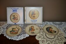 3 Vintage Goebel Mj Hummel Annual Collector Plates 1979 1980 and 1981