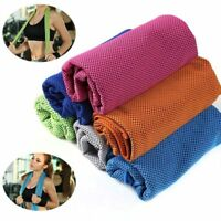 4x Ice Cooling Towel for Sports/Workout/Fitness/Gym/Yoga/Pilates/Travel/Camping