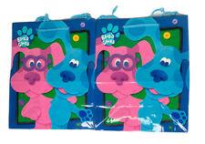 NEW Vintage Hallmark Blues Clues Gift Bag 2000 Magenta Periwinkle Set of 2