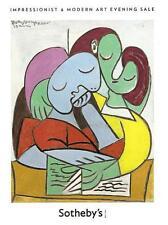 Sotheby's / Impressionist & Modern Art Evening Auction Catalog 2011