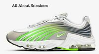 """Nike Air Max Plus 2 """"Grey/Electric Green"""" Men's Trainers Limited Stock All Sizes"""