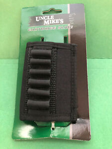 UNCLE MIKE'S 8840-1 CARTRIDGE SLIDE HOLDS 6 CARTRIDGES SHELL LOOPS NEW