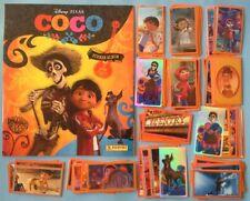 Album vide Coco + set complet stickers non collé PANINI 2017 Disney