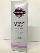 Fake Bake Flawless Self-Tanning Liquid 6 fl oz Streak-Free W/ Mitt , Gloves-A10