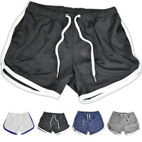 Mens Gym Shorts Training Running Sport Workout Fitness Jogging Pants Trousers