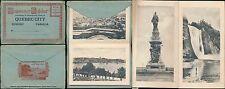 CANADA c1930 QUEBEC MULTIVIEW CARD 16 PHOTOS