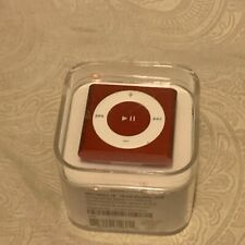 Apple iPod shuffle 4th Generation (PRODUCT) RED (2 GB) New Sealed