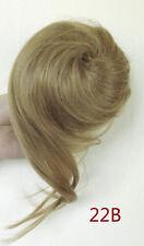 Damen Haarteil Zopf Haarverlängerung Hepburn-Dutt Perücken Haarknoten Neu ZY