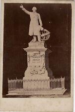 Monument François Arago Perpignan Mercié France Vintage Albumine ca 1880