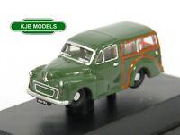 BNIB N GAUGE OXFORD 1:148 NMMT008 Morris Traveller Green Car