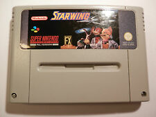 Nintendo SNES STARWING SNSP-FOUKV  MADE IN JAPAN UK PAL (GAME ONLY)