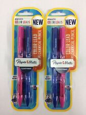 Paper Mate Clearpoint Color Lead Mechanical Pencils 0.7mm 2ct Lot of 2 (NEW