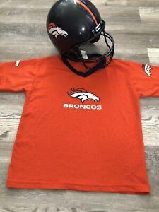 NFL Youth Franklin Sports Denver Broncos Helmet and Jersey Set