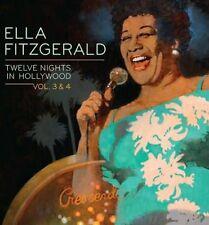 Vol. 3-4-Twelve Nights In Hollywood - 2 DISC SET - Ella Fitzgera (2011, CD NEUF)