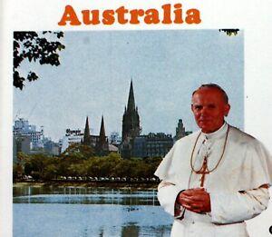 Australia Trip / Travel Pope John Paul II Vatican Envelope FDC Cover PA594
