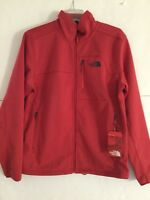 The North Face Men's Apex Risor Softshell Jacket Medium in Rage Red Heather