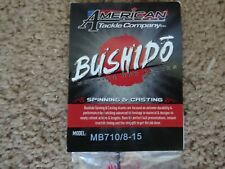 Rod Building Wrapping Bushido MB710/8-15 Graphite Blank