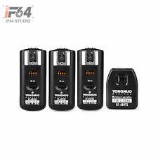 Yongnuo RF-602 RF602 2.4GHz Wireless Remote Flash Trigger 3 Receivers for Nikon