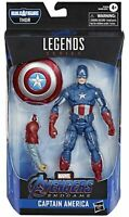 "Marvel Legends Avengers Endgame Captain America 6"" Action Figure Thor BAF"