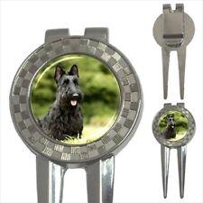 Scottish Terrier 3-in-1 Golf Divot Tool - Puppy Dog