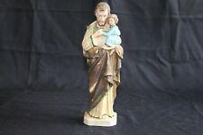 Ancienne statuette en plastique Saint Joseph  Hauteur 26 cm.