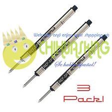 BLACK INK ROLLERBALL REFILLS CAPLESS RETRO 51 REF 5 P THREE REFILLS PACK