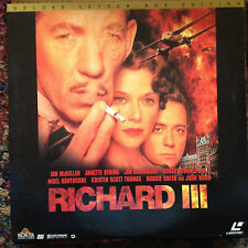 Richard III Letterboxed Laserdisc Buy 6 free shipping MGM/UA ML105528