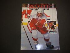 Beckett Hockey Monthly Magazine March 1994 Sergei Fedoroy Keith Tkachuk M2179