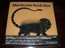 MANTICORE ROCK BOX Japan 6 mini lp BOXSET PROG STRAY DOG THEE IMAGE SEALED NEW