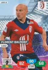 LOSC-06 FLORENT BALMONT # LILLE CARD ADRENALYN FOOT 2014 PANINI
