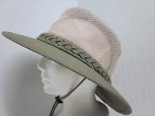 New M - Deluxe Cotton Canvas Breezer Hat - UPF50+* Olive - Crushable & Packable