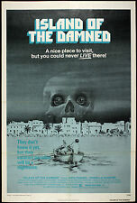 """1978 Island of the Damned One Sheet (27"""" x 41"""") Original Movie Poster"""