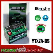 SKYRICH BATTERIA LITIO YTX7A BS MOTO TRITON MISTRAL 250 2003 2004 2005 BATTERY