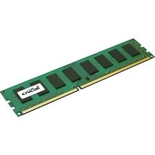 Crucial 4GB DDR3 1600 MT/s Cl11 Udimm 240pin ECC 1.35v/1 5V