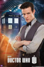 DOCTOR WHO - MATT SMITH POSTER - 24x36 11th DOCTOR BBC TV DR 5595